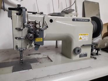 Швейные машины в Кыргызстан: Продаю спецмашину - двухиголку безшумная.  прокладывает