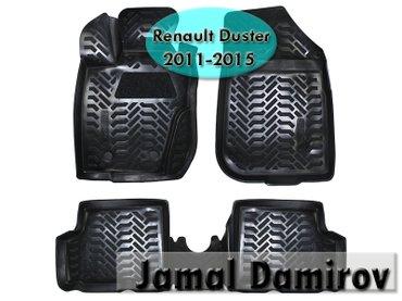 Renault duster 2011-2015 üçün poliuretan ayaqaltilar. Полиуретановые