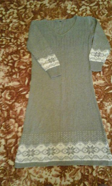 Платье вязанное р.44-46 в Бишкек