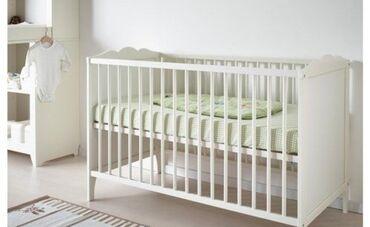 İkea uşaq yatağı, matras ile birlikdə 100 azn, uşağın yaşına və