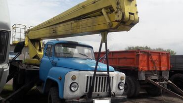 Срочно продаю ГАЗ 53 автовышка 1988 г/в в отличном состоянии, резина