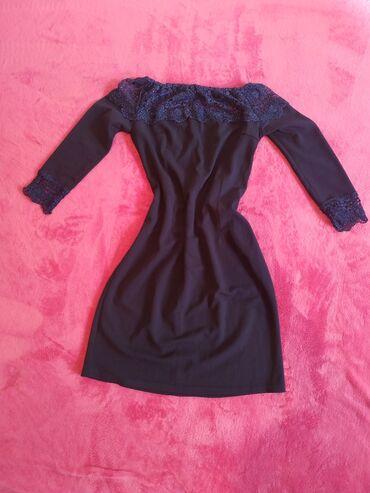 вечернее платье темно синего в Кыргызстан: Продаю платье, новое. Цвет темно синий, размер длина до колен