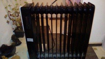 Uljni crni radijator, 12rebara, ventilator, kupljen prošle godine, - Smederevo