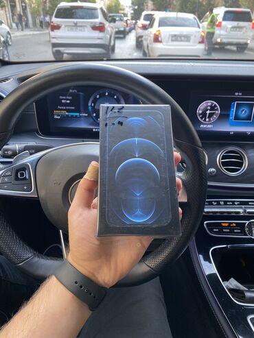 IPhone 12 Pro   128 GB   Mavi Yeni   Zəmanət, Simsiz şarj, Face ID