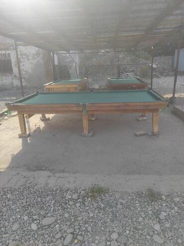 Спорт и отдых - Базар-Коргон: Билярд