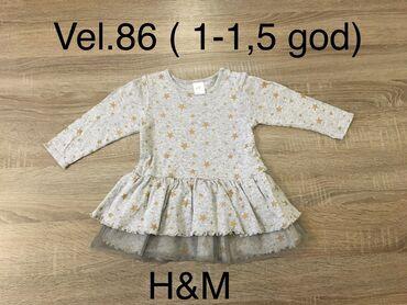 Decije haljine - Indija: H&M haljinica Vel.86 1-1,5 god haljina za bebe devojcice