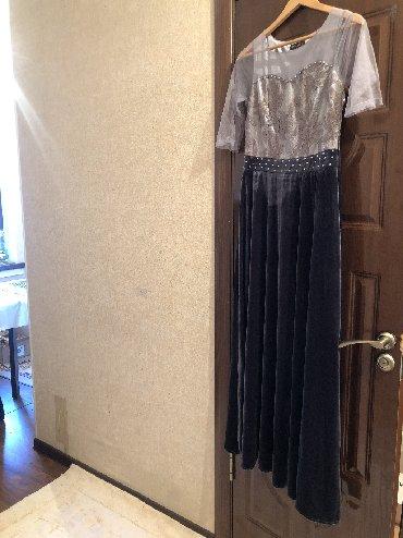 платья вечерние in Кыргызстан | МАТЕРИНСКИЕ ПЛАТЫ: Вечернее платье новое  Размер M/L (44/46)