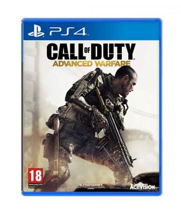 Bakı şəhərində Ps4 üçün Call of duty advanced warfare oyun diski satılır