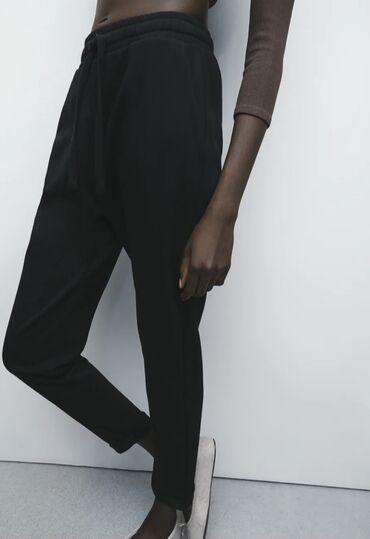 Личные вещи - Кыргызстан: Штаны Zara новые, размер S