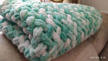 Вяжу на заказ супер мягкие плюшевые - пледы- конверты- одеяла для
