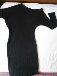 Crna haljina na jedno rame, teško je slikati je lepo. Prijatnaza - Belgrade