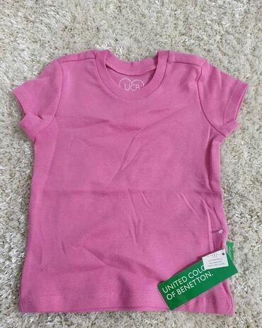 Benetton majica za devojcice, velicina 90 (18-24 meseci). Majica bez
