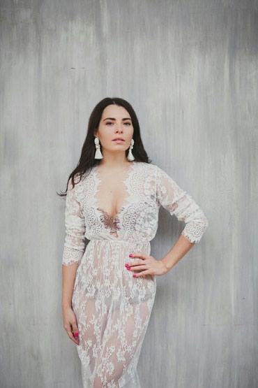 Будуарное платье, белое, черное и бордовое, размеры