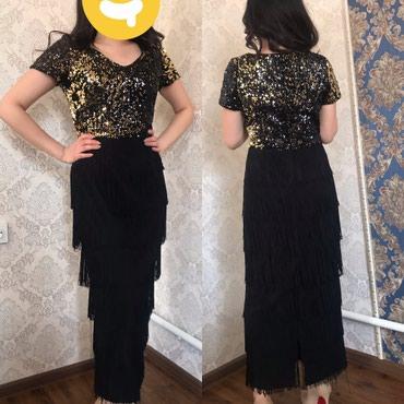 Продаю красивое платье один раз одевала,отдам за 2000с телефон: в Бишкек