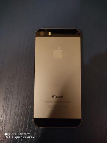 Apple Iphone - Azərbaycan: İşlənmiş iPhone 5s 16 GB Qara