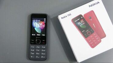 Nokia - 150. 3 ayin telfonudu. Karobka adaptiri var Barter maraglidi