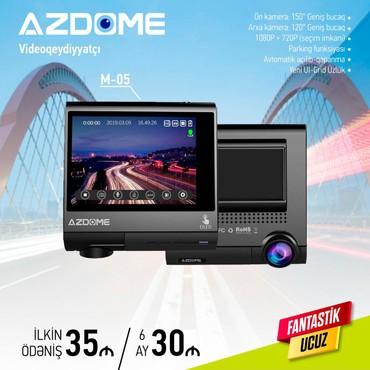 avtomobil kredit - Azərbaycan: Videoqeydiyyatçı Azdome M-05 Sade Şərtlerle Hisse-Hisse ödemekle