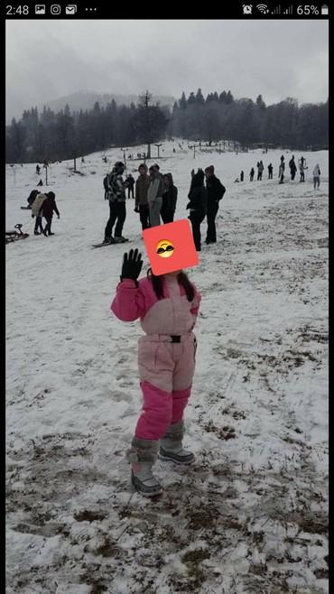 весенние комбинезоны для новорожденных в Азербайджан: Лыжный комбинезон для девочки 7-9 лет