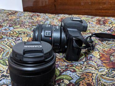 Продаю беззеркальную камеру canon m50 В комплект входит тушка, кит