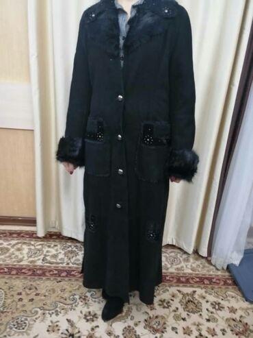 Дубленки для женщин - Кыргызстан: Продаю или меняю дублёнку. Турция.Натуралка,размер46-48.(l)