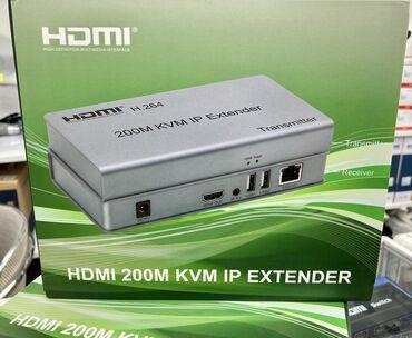 HDMI ve USB extender 200metr