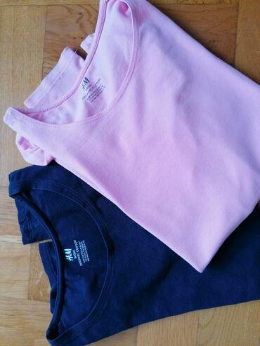 Majica velicina m - Srbija: REZERVISANO H&m organski pamuk velicina 10/12godina.duksici i ima