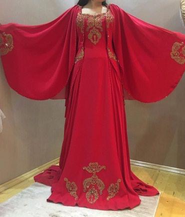 ziyafet geyimleri ve qiymetleri в Азербайджан: Xina paltari kiraye. hurrem model. turkiyeden alinib bir defe