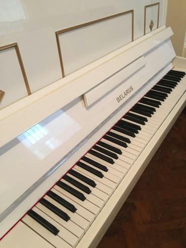 Pianino БЕЛАРУСЬ Rusiya stehsalı. Cadırılma və köklənmə pulsuzdu