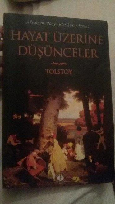 masa kitabı - Azərbaycan: Tolstoy-Hayat Üzerine Düşünceler(beyin yakan kitap,türkçe)