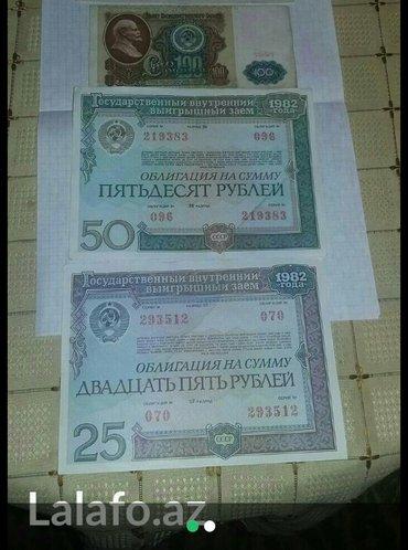 Bakı şəhərində SSSRinin kohne pullari satilir Hamisi bir yerde 25 azn