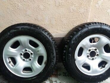 r16 диски в Кыргызстан: Зимние колёса R16 (шины + диски).Штампованные диски (сталь) : R16\PCD