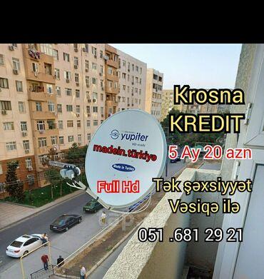 Krosna krosnu krosna kros peyk antenaların kreditlə və nəğd