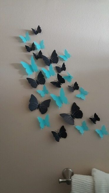 Sumqayıt şəhərində Divar ucun 3d dekor kepenekler..magnitle hem yapiskanladi..istenilen