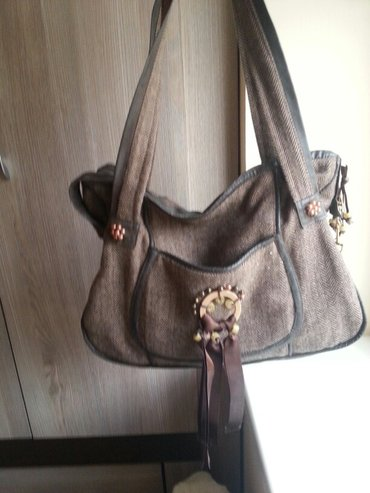 Ženska torbica od platna skroz ispravna. - Vrsac