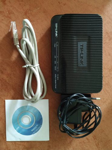 Bakı şəhərində Tp-link modem tam işlək vəziyyətdədir.