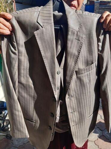 Костюм тройка брюки, костюм, жилет 1000 сом
