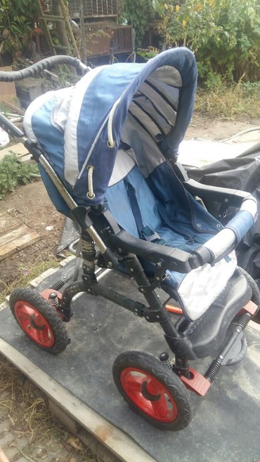 детские коляски люльки в Кыргызстан: Детская коляска универсальная. Положение лежа и сидя. Ручка со сменой