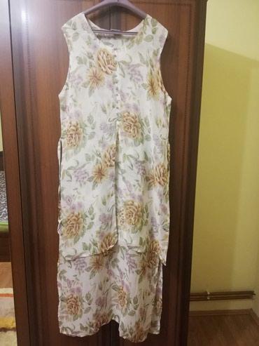 Prelepa letnja leprsava haljina, malo nosena L - XL - Lajkovac