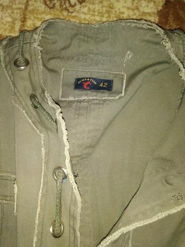 Sako jakna ,od kepera,  NOV ,vel.XL MASLINASTO ZELENA  KEPER , SA - Pancevo