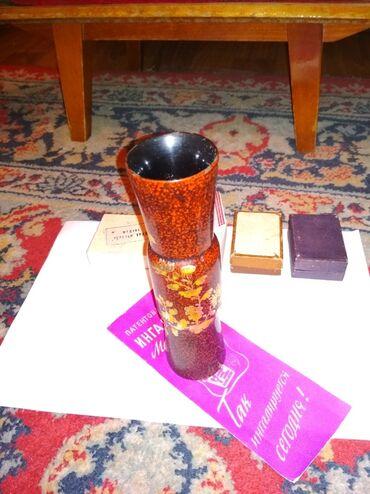 Антикварные вазы - Бишкек: Ваза маленькая в коллекцию