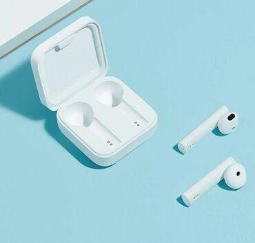 Наушники - Тип подключения: Беспроводные (Bluetooth) - Бишкек: Беспроводные наушники Xiaomi Mi True Wireless Earphones 2 Basic  5 час