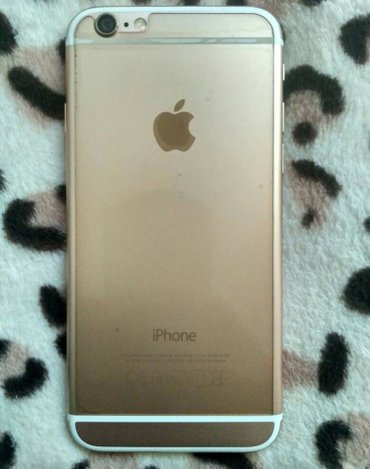 Iphone 6 gold 64гиг в Токмак