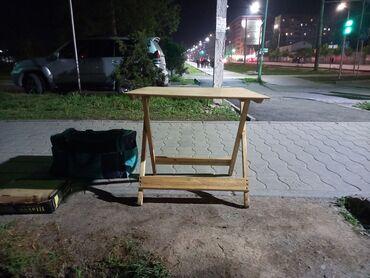 Продаю раскладной стол трансформер высота 1 метр размер доски 75×90