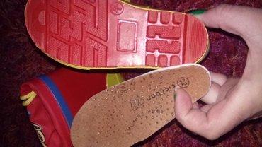 Ciciban gumene čizme br. 22 sa antomskim uloskom - Loznica - slika 3