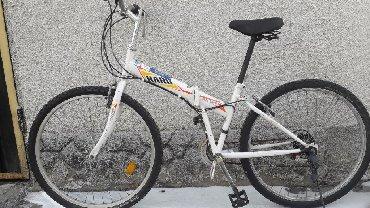 горный велосипед без скоростей в Кыргызстан: Складной скоростной велосипед из Кореи Диски 26 21 скоростей Состояние