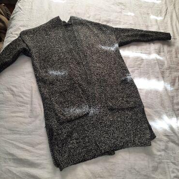 Другая женская одежда - Кыргызстан: Кардиган размер стандарт  Платье бордо размер 44,46  Платье беж размер