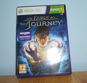 FABLE THE JOURNEY XBOX 360 KINECT ( requires kinect ) - Original - Belgrade