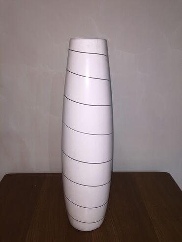 Напольная ваза для цветов-высота вазы 61 см-керамика, диаметр 16 см