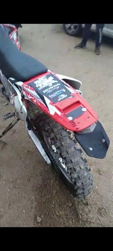 Honda - Кыргызстан: Продаю хард эндуро мотоцикл Honda crf 450 Х .2005 годРасстоможен не