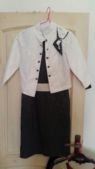 Костюм. Платье + пиджак. Размер 44-46 в Бишкек